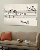 Cadenza, signé par Mozart Toile Murale Géante