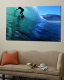 """Surfing the Tube at """"Dunes """" Noordhoek Beach  Cape Town  South Africa"""