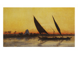 Voyage on the Nile in a Felucca  Her Majesty Empress Eugenie  1826-1920