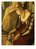 Le Due Dame Veneziane (2 Venetian Ladies) (Detail)