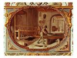 Gunpowder Manufacturer  Ceiling Fresco