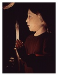 Christ Holding Candle  from Saint Joseph Charpentier (Saint Joseph the Carpenter) (Detail)