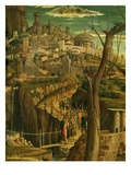 City of Jerusalem  from Christ's Agony in the Garden  1459-60 (Detail)
