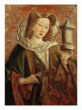 Mary Magdalene  Wooden Panel of Altarpiece