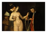La Femme Entre Les Deux Âges (Woman Between the Two Ages of Man)  Second Half of 16th Century