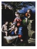 Holy Family of the Oak Tree  1518