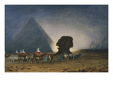 The Sphinx at Giza  Her Majesty Empress Eugenie  1826-1920