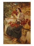 The Florist  19th Century