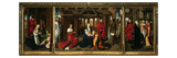 The Nativity  Adoration of the Magi and Presentation in Temple  Triptych