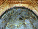 Constellations and Signs of Zodiac  Fresco  Ceiling Vault  Old Library