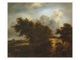 The Bush  or Path Among the Haarlem Dunes  C1649