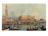 Venice  Showing Doge's Palace and Saint Mark's Square  Italy
