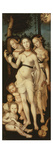 Harmony or the Three Graces (Charites  or Goddesses of Beauty) 1541-44 151X61Cm
