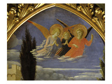 Deposition of Christ 1435 Detail of Angels