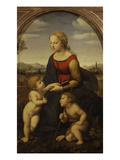 La Belle Jardinière  Virgin and Child with Young John the Baptist  1507-08