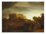 Landscape with Castle  Imaginary View  C1640-42