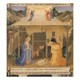 The Nativity  Predella of Cassone (Large Chest) for Silverware (Armadio Degli Argenti)
