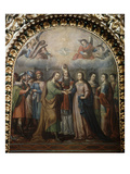 The Wedding of Mary and Joseph  1723  Basilica of Ocotlan  18th Century