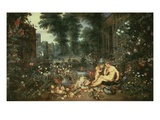 The Sense of Smell 1617-18 65X109Cm