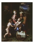 Holy Family of the Pearl  C 1518-20