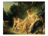 Diane Sortant Du Bain (Goddess Diana after Bathing) (Exhibited 1742)