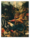The Temptation of Saint Anthony  from the Isenheim Altarpiece  C1515 (Detail)