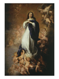 The Immaculate Conception  1676-9 of Soult 274X190Cm
