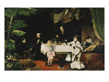 Lunch in the Conservatory  1877