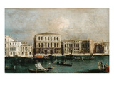 View of Grand Canal with Ca' Pesaro  Venice  1734-35