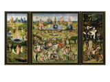 The Garden of Earthly Delights  Triptych  before 1593