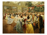 Emperor Franz Joseph  1830-1916  at Ball in Vienna in 1900 to Salute Start of New Century