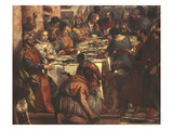 The Wedding at Cana  Painted 1562-63 (Portraits Include Francis I of France  Mary of England)