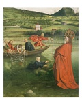 The Miraculous Draft of Fishes  Situated in Geneva Landscape  from Cathedral of St Peter  Detail