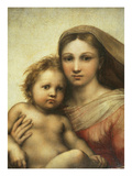 The Sistine Madonna  Madonna and Child with Pope Sixtus II and Saint Barbara  C 1512
