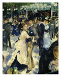 Couples Dancing  from Bal Du Moulin De La Galette  Dance at Moulin De La Galette  Paris  1876