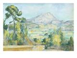 Montagne Saint Victoire  1890