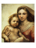 The Sistine Madonna  Madonna and Child with Pope Sixtus II and Saint Barbara  C 1512  Detail