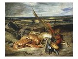 Trophées De Chasse Et De Pêche  Trophies of Hunting and Fishing  or Still Life with Lobsters