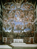 Last Judgement  1536-41  Fresco  Sistine Chapel  Vatican  Rome