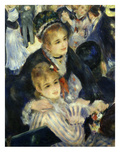 Smiling Women  from Bal Du Moulin De La Galette  Dance at Moulin De La Galette  Paris  1876  Detail