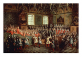 Lit De Justice - Réunion Du Parlement De Paris Le 22 Février 1723