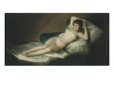 La Maja Desnuda  the Nude Maja  1797-1800