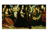 Madonna and Child and Saints from Convent of Sion 1509  known as the Virgin Among the Virgins