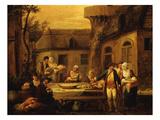 Evening Meal  from Les 4 Heures De La Journée  Le Soir (The Four Stages of the Day)