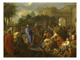 The Entry of Christ into Jerusalem  1659