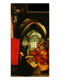 Isenheim Altarpiece  Annunciation Panel  C 1515