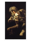 Saturn Devouring His Children  1819-23  Black Painting  146X83Cm
