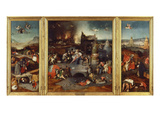 Temptation of Saint Anthony  Triptych 1505-6