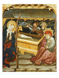 Nativity  15th Century  by Master of Glorieta  from Mas De Bondia