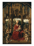 Madonna and Child  Central Panel of Malvagna Triptych